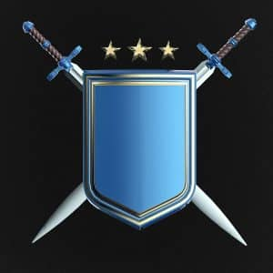 Maryco Cleaning Service Targeting Commercial Cleaning Service Near Me (Defend your business - a blue shield with crossed swords)